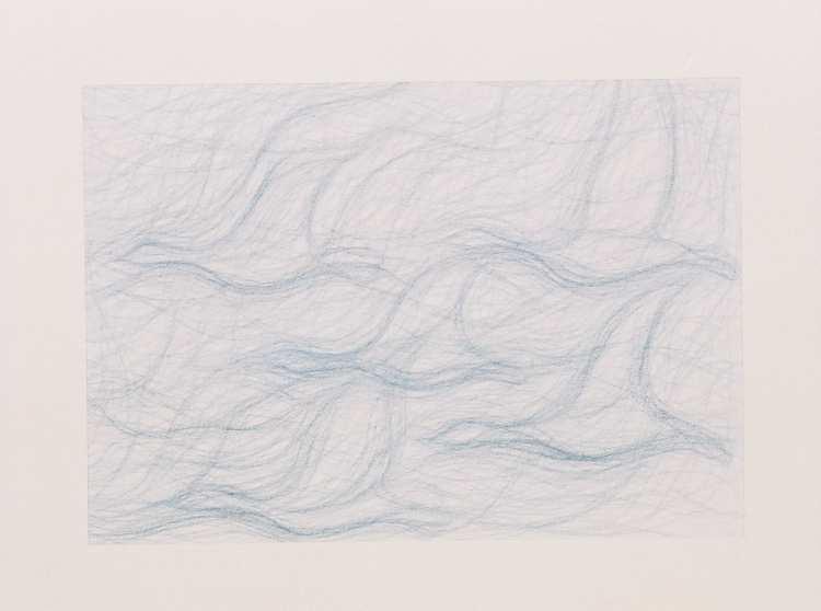 Dynamisch tekenen: bewegelijke stromende lijnen verdichten zich langzaam tot vorm of bevrijden juist te vaste vormen.